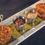 SOUTHERN FRIED GREEN TOMATO STACK